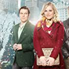 Eliza Taylor, Michael Xavier, and Jake Lacy in Christmas Inheritance (2017)