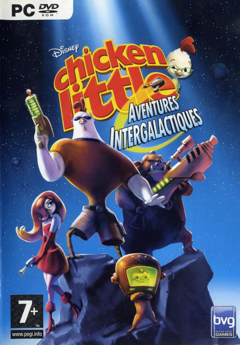 Chicken Little Ace In Action Video Game 2006 Imdb