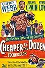 Cheaper by the Dozen (1950) Poster