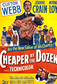 Cheaper by the Dozen Poster