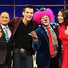 Chuti Tiu, David Villalpando, Sergio Verduzco, and Moisés Araiza in Noches con Platanito (2013)