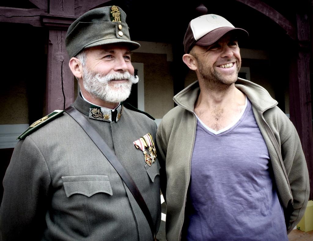Ernst Gossner and Reinhard Forcher in Der stille Berg (2014)