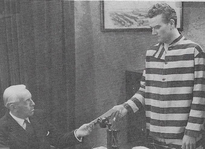 John Wayne and Lloyd Ingraham in Rainbow Valley (1935)