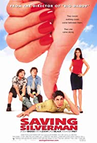 Amanda Peet, Steve Zahn, Jason Biggs, and Jack Black in Saving Silverman (2001)