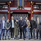Robert Schwentke, Kenji Tanigaki, Erik Howsam, Haruka Abe, Takehiro Hira, Andrew Koji, Christopher Jue, and Henry Golding in Snake Eyes: G.I. Joe Origins (2021)