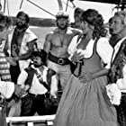 Christopher Atkins, Marc Colombani, Ted Hamilton, Maggie Kirkpatrick, Kjell Nilsson, and Roger Ward in The Pirate Movie (1982)
