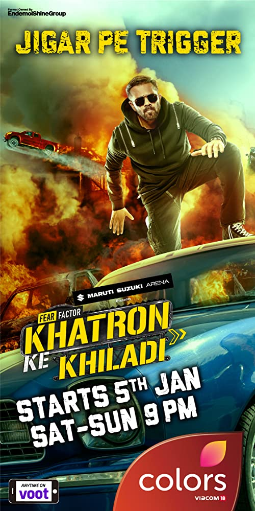 Rohit Shetty in Fear Factor: Khatron Ke Khiladi (2008)