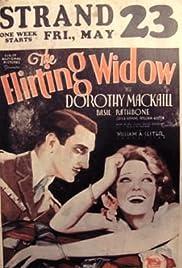 The Flirting Widow Poster