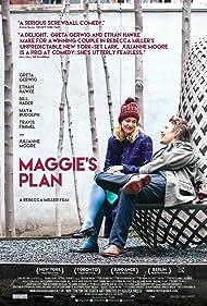Ethan Hawke and Greta Gerwig in Maggie's Plan (2015)