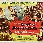 Paul Henreid, Mary Anderson, Edgar Barrier, and Karin Booth in Last of the Buccaneers (1950)