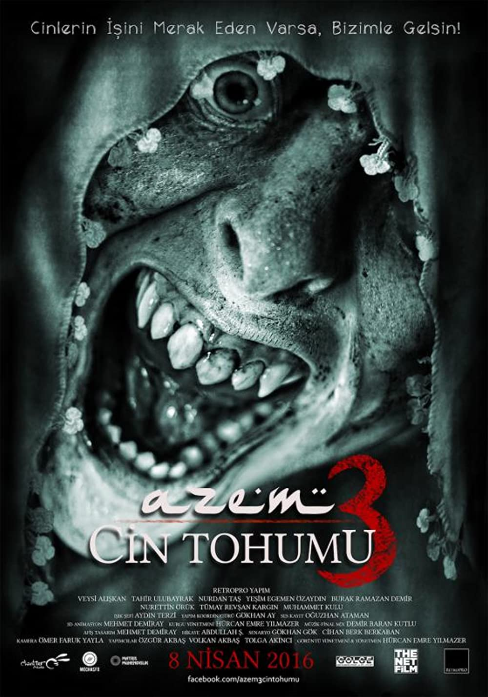 Azem 3: Cin Tohumu 2016 Hindi Dual Audio 300MB HDRip ESubs Download