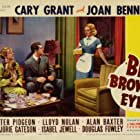 Cary Grant, Joan Bennett, and Marjorie Gateson in Big Brown Eyes (1936)