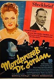 Mordprozeß Dr. Jordan Poster