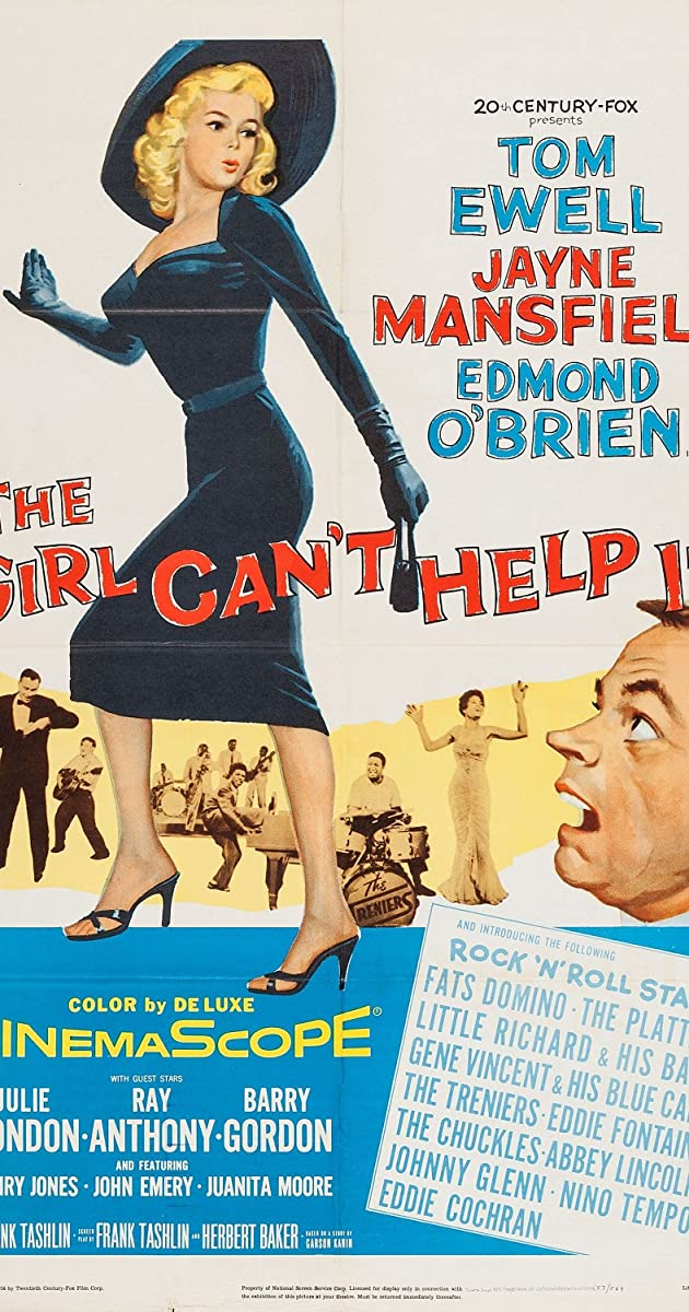 image poster from imdb - The Girl Can't Help It (1956)