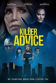 Eric Roberts, Steve Richard Harris, Gina Hiraizumi, Meredith Thomas, Gigi Gustin, and Kate Watson in Killer Advice (2021)