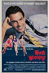 Madeleine Stowe, Lesley Ann Warren, Mark Harmon, and Maria Holvoe in Worth Winning (1989)