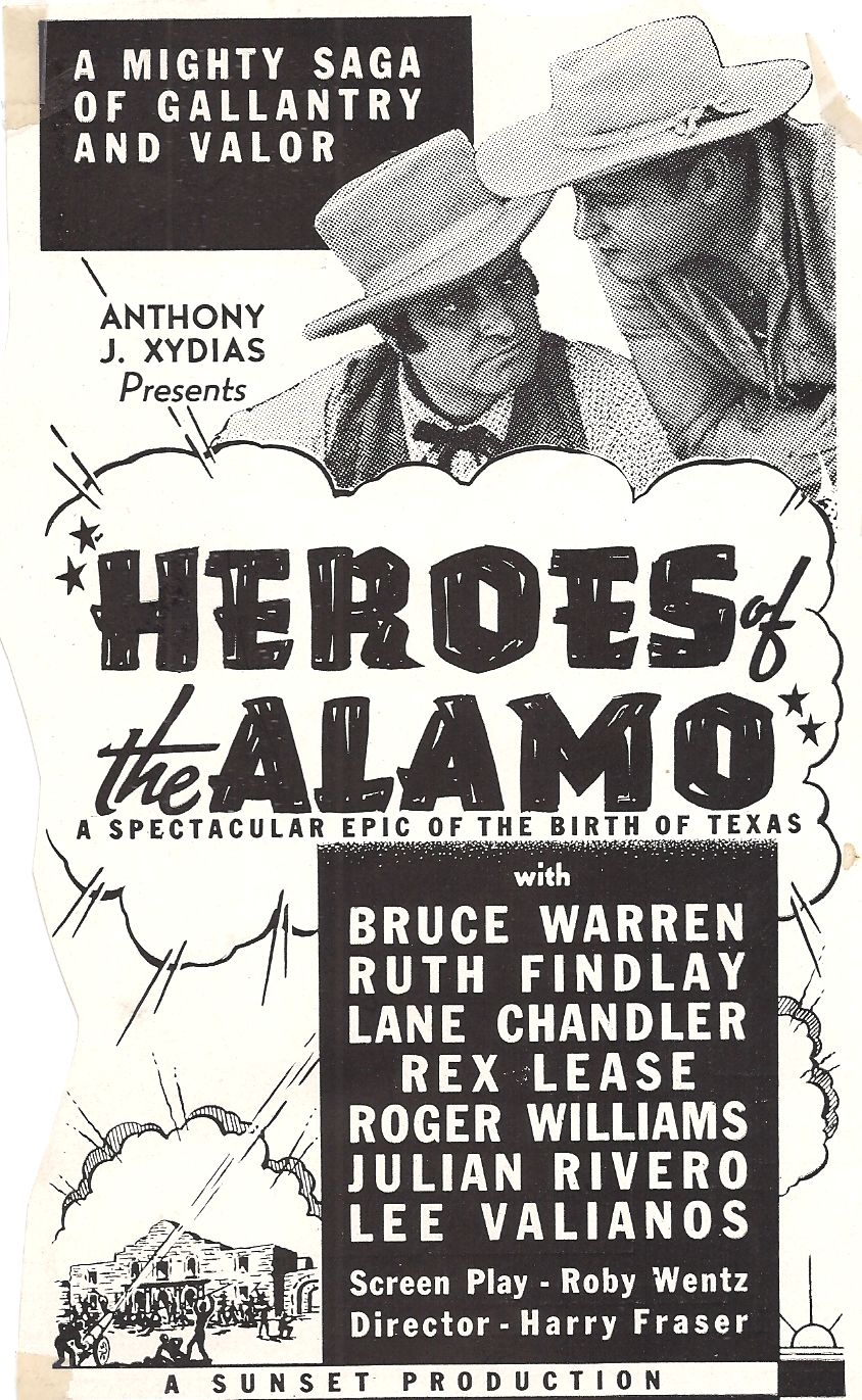 Rex Lease and Bruce Warren in Heroes of the Alamo (1937)