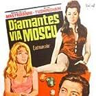 Marcello Mastroianni, Elaine Taylor, and Francesca Tu in Diamonds for Breakfast (1968)