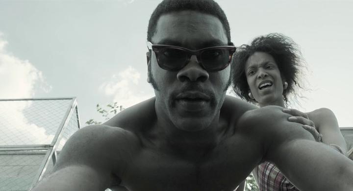 Lilla Banak and Diego Adonye in Gemini Man (2019)