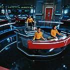 Rebecca Romijn, Anson Mount, and Samora Smallwood in Star Trek: Discovery (2017)