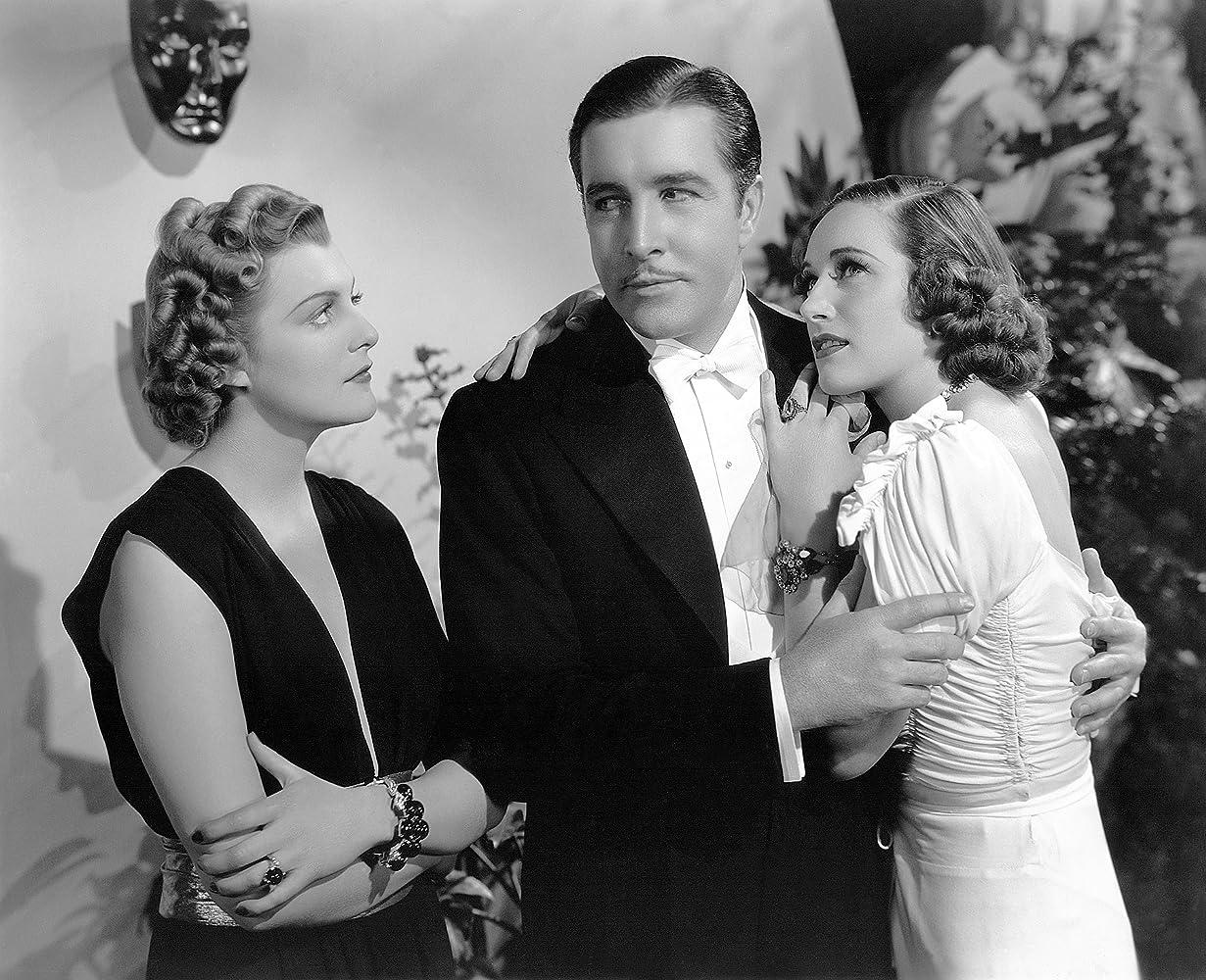 Tala Birell, John Boles, and Esther Ralston in As Good as Married (1937)