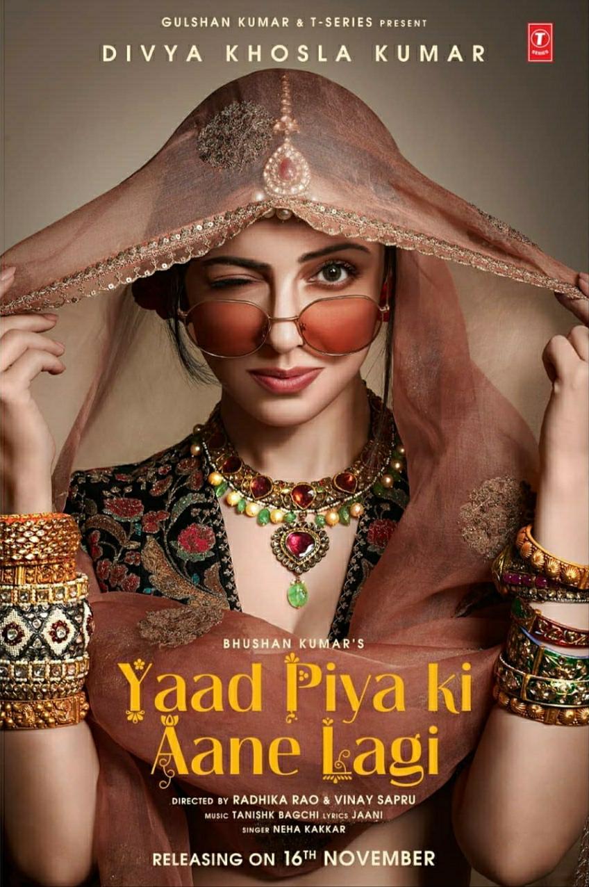 Divya Khosla Kumar Yaad Piya Ki Aane Lagi Video 2019 Imdb