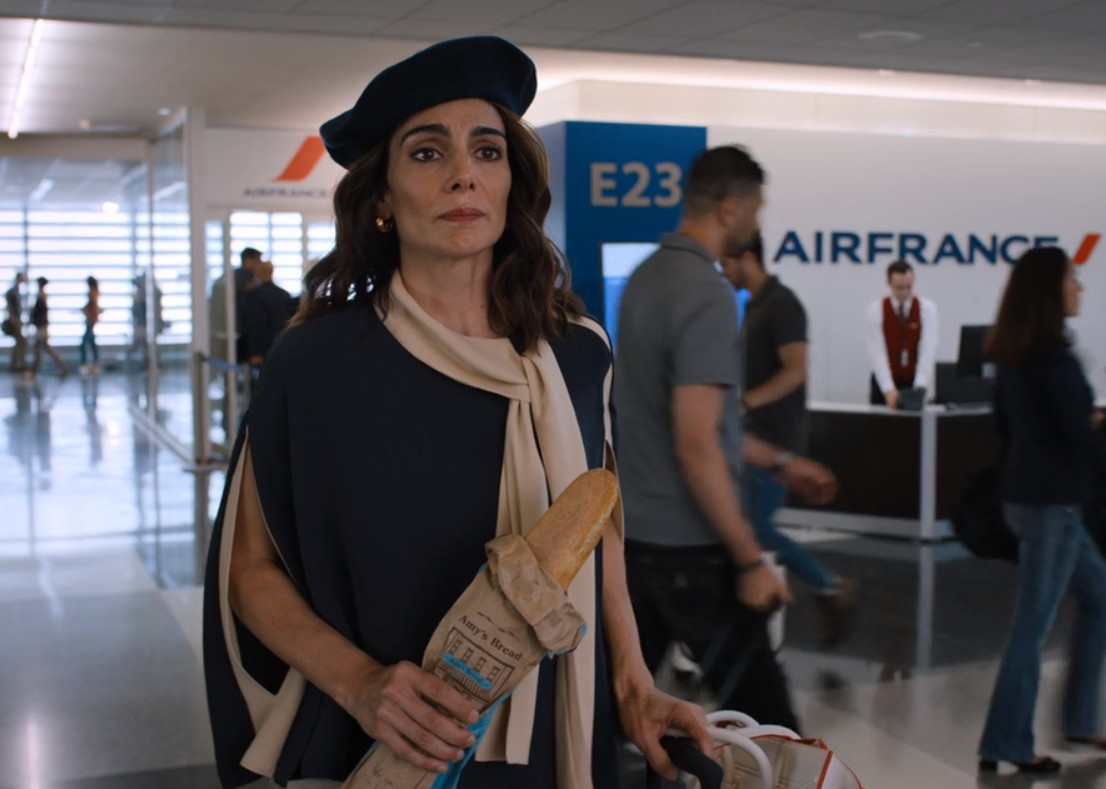 Annie Parisse and Kevin Sebastian in Friends from College (2017)