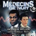 Georges Beller and Greg Germain in Médecins de nuit (1978)