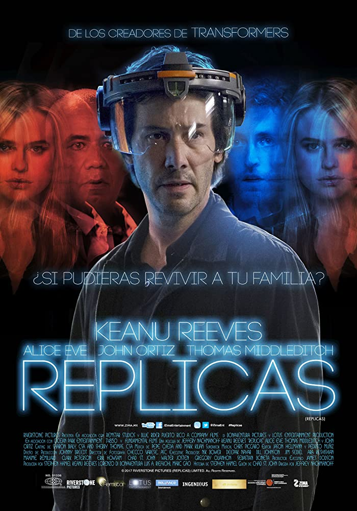 Replicas (2018) 720p HEVC [Hindi + English] BluRay x265 ESubs