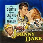 Tony Curtis, Piper Laurie, and Don Taylor in Johnny Dark (1954)