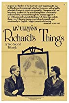 Richard's Things (1980) Poster