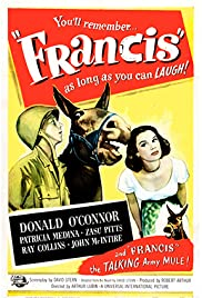 Francis (1950) Poster - Movie Forum, Cast, Reviews