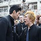 Taichi Saotome and Masahiro Higashide in Kurôzu Explode (2014)