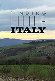 Finding Little Italy Poster