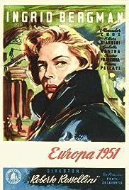 Europe '51 Poster