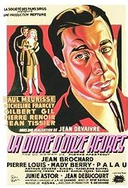 La dame d'onze heures Poster