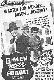 G-Men Never Forget Poster