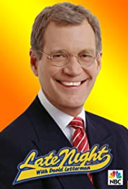 Late Night with David Letterman Poster - TV Show Forum, Cast, Reviews