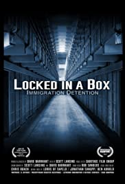 Locked in a Box: Immigration Detention Poster