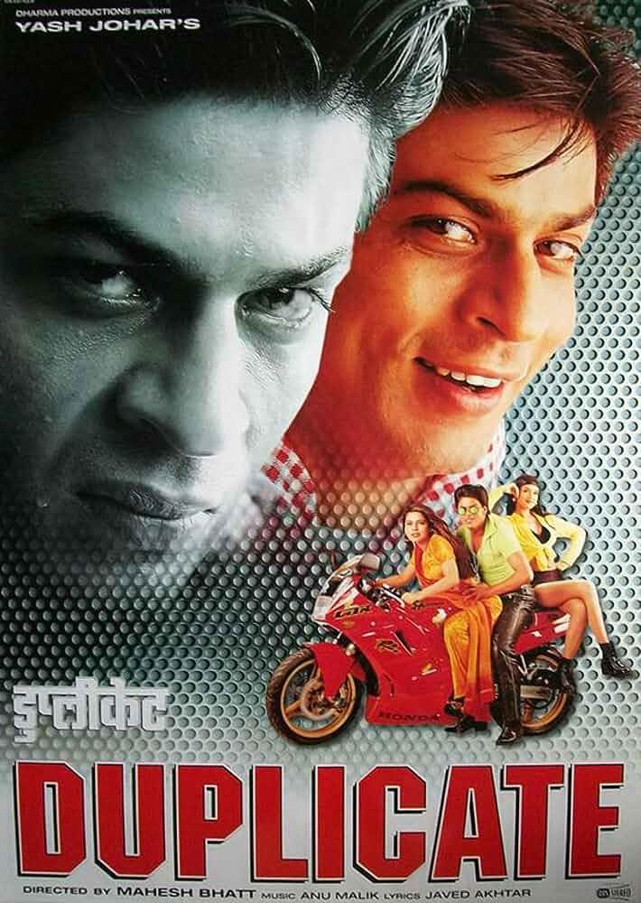 Duplicate 1998 WebRip Hindi 1080p x264 DDP 5.1 ESub – mkvCinemas [Telly] | 5.5 GB |