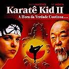 Ralph Macchio and Pat Morita in The Karate Kid Part II (1986)