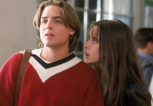 Jennifer Love Hewitt and Will Friedle in Trojan War (1997)