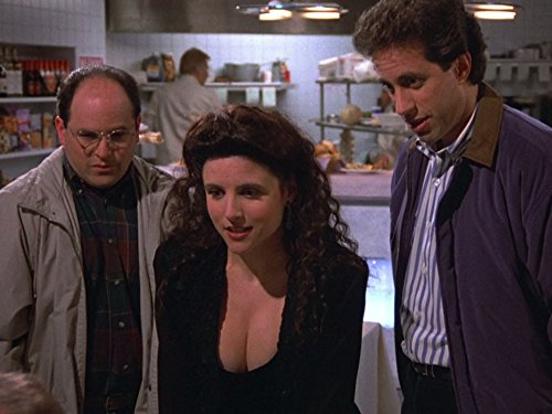 Julia Louis-Dreyfus, Jerry Seinfeld, and Jason Alexander in Seinfeld (1989)