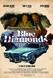 Blue Diamonds Poster
