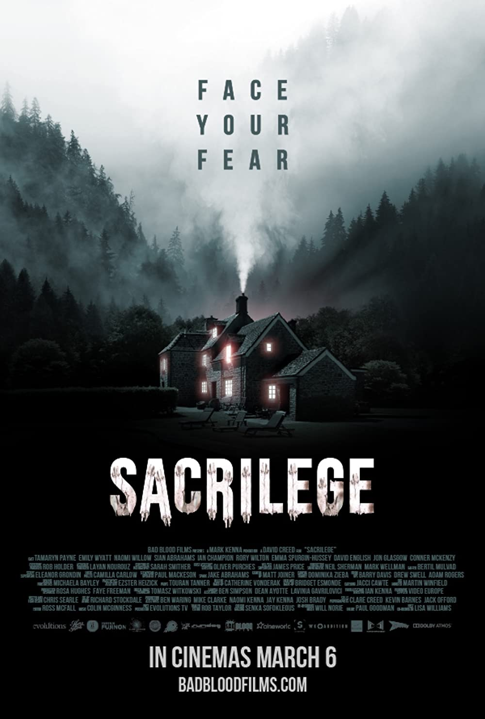 Sacrilege 2020 English 720p HDRip 800MB | 300MB Download