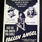 Dana Andrews, Linda Darnell, and Alice Faye in Fallen Angel (1945)
