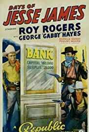 Days of Jesse James Poster