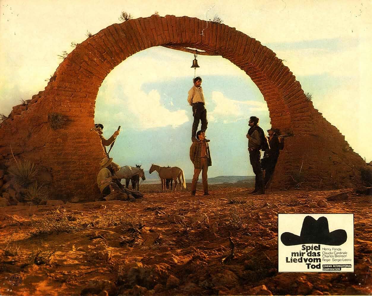 Henry Fonda and Claudio Mancini in Cera una volta il West 1968
