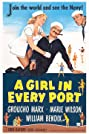 A Girl in Every Port (1952) Poster