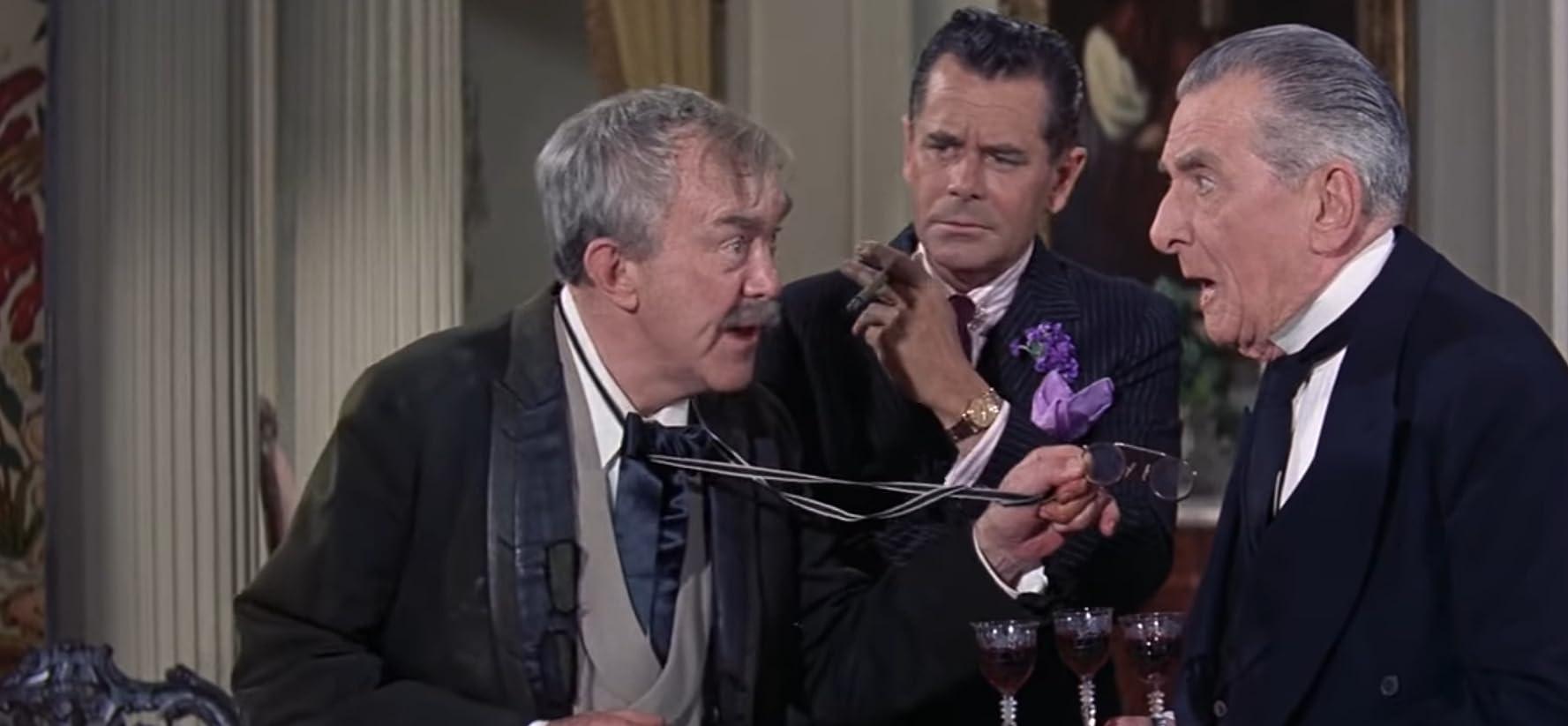 Glenn Ford, Edward Everett Horton, and Thomas Mitchell in Pocketful of Miracles (1961)